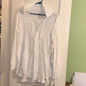 NWT BILLABONG bathing suit cover up!